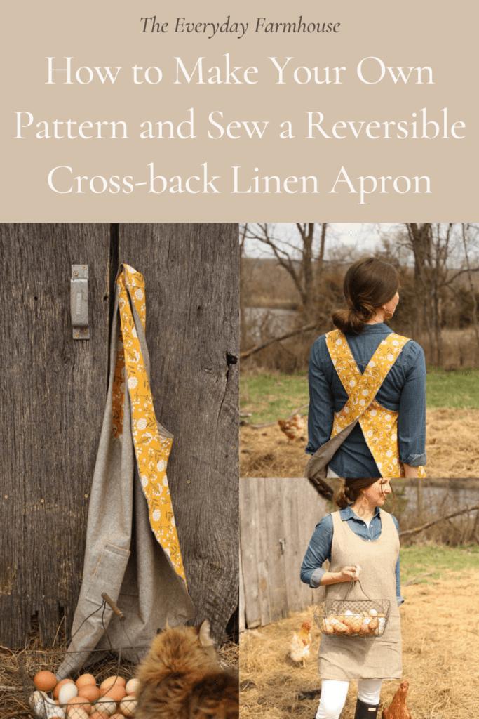 cross back reversible apron