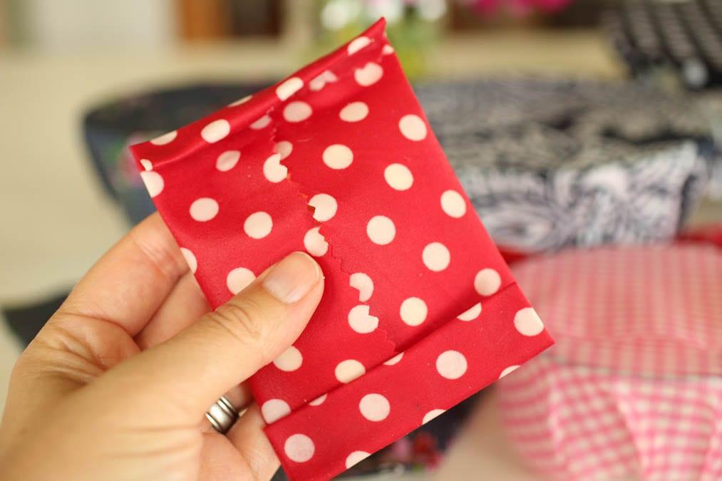 DIY Beeswax snack wrap