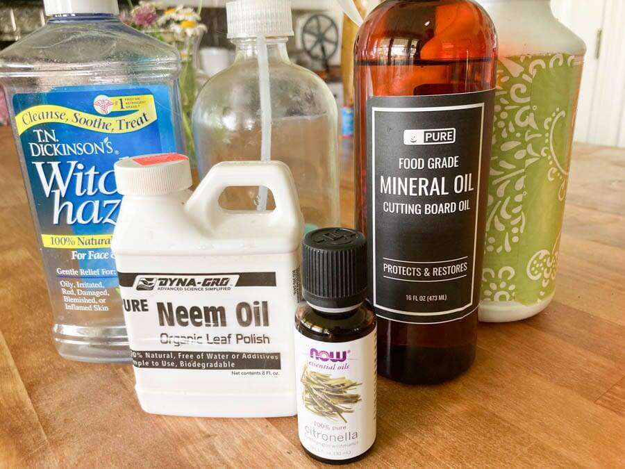 homemade fly spray ingredients