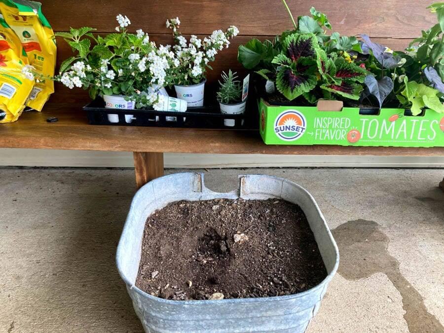 save money large flower pots