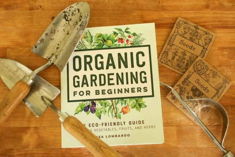 Book Review, Organic Gardening For Beginners